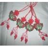 蝴蝶小香包中国结手机吊饰