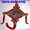木雕圆板编织中国结组合